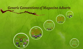 Generic Conventions of Magazine Adverts