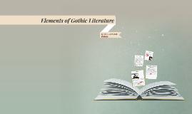 Elements of Gothic Literature