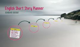 English Short Story Planner