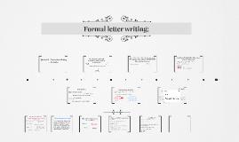 Letter Writing GCSE