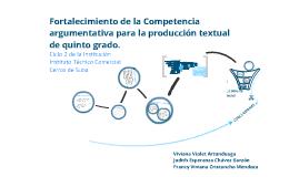 Copy of Fortalecimiento de competencias Argumentativas