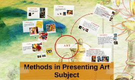 Copy of methods in presenting art subject
