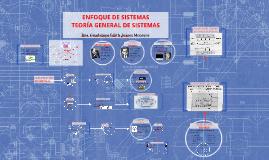 Enfoque de sistemas: Teoría General de Sistemas