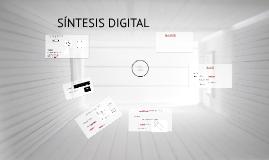 SINTESIS DIGITAL