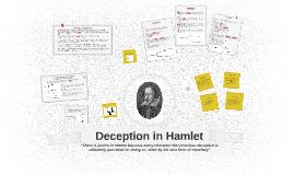 Deception in Hamlet