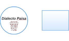Dialecto Paisa