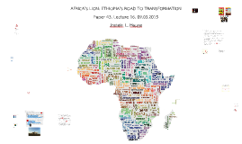 Africa's Lion: Ethiopia's road to transformation 09.03.2015