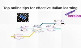 NEW Top online tips for effective Italian learning
