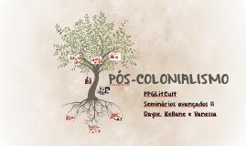 PÓS-COLONIALISMO