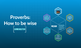Proverbs: How to be wise