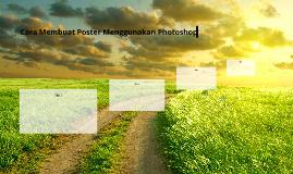 Cara Membuat Poster Menggunakan Photoshop
