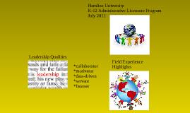 Copy of Hamline University