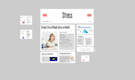 Copy of Copy of Stress and Your Body