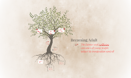 Copy of Becoming Adult: The futures and wellbeing outcomes of young