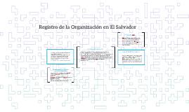 Copy of Registro de la Organización en El Salvador