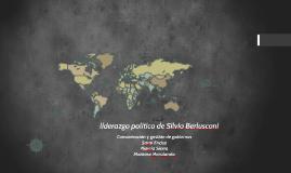 liderazgo político de Silvio Berlusconi