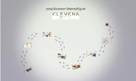 2014 Summer Internship at Clemens Food Group
