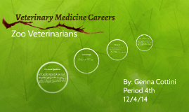 Veterinary Medicine Careers
