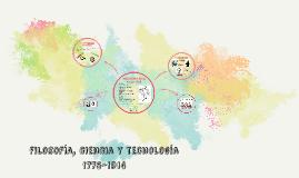 filosofía, ciencia y tecnología 1775-1914