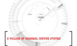 Copy of 5 PILLARS OF CRIMINAL JUSTICE SYSTEM
