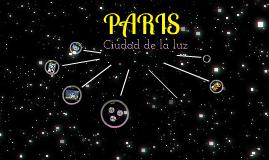 PARIS, ciudad de la luz