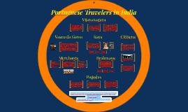 Portuguese Travelers in India