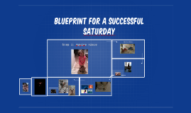 Blueprint for a successful saturday