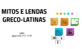 MITOS E LENDAS
