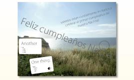 invitación cumpleaños Nacha :)