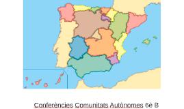 Conferències comunitats autònomes