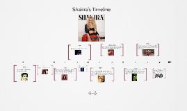 SHAKIRA'S TIMELINE