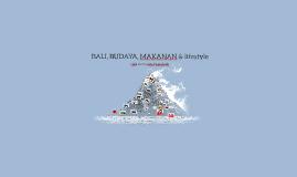 BALI, BUDAYA, MAKANAN & lifestyle