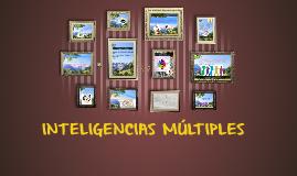 Copy of Copy of INTELIGENCIAS MÚLTIPLES