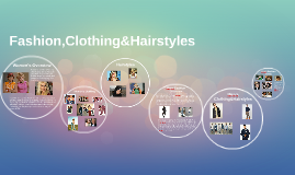 Fashion,Clothing&Hairstyles