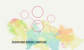 Resolving Social Conflict