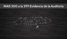 Copy of NIAS 500 a la 599 Evidencia de la Auditoria