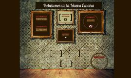 Rebeliones de la Nueva España