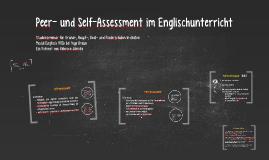 Peer- und Self-Assessment im Englischunterricht