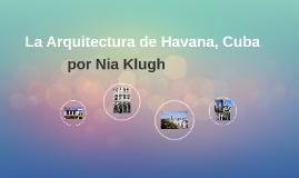 La Arquitectura de Cuba