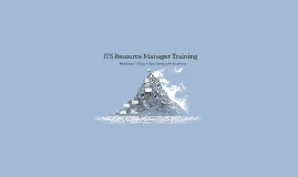 Resource Manager Training