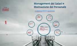 Parte I Management dei Salari e Motivazione del Personale