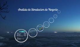 Analisis de Simulacion de Negocios