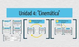 """Unidad 4: """"Cinemática"""""""