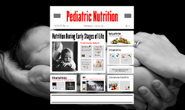 Copy of Pediatric Nutrition