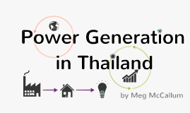 Power Generation in Thailand