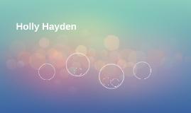 Holly Hayden