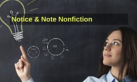 Notice & Note Nonfiction