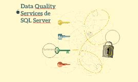Data Quality Services de SQL Server