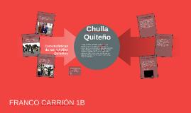 Chulla Quiteño