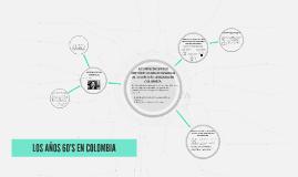 LOS AÑOS 60'S EN COLOMBIA